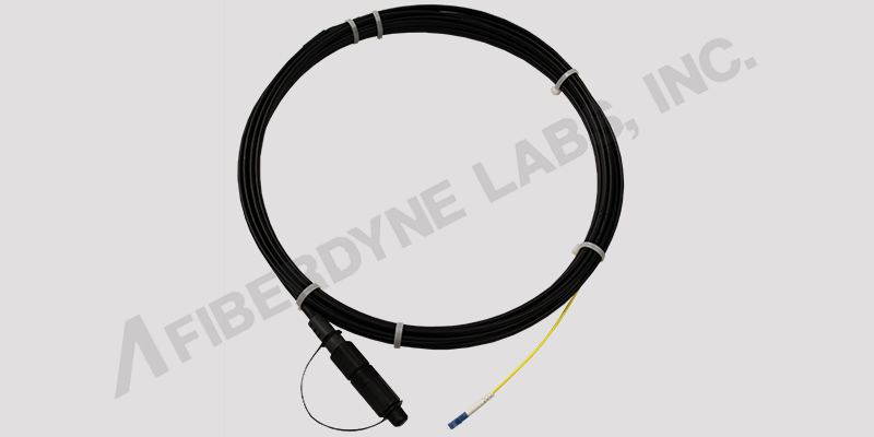 FTTH Flat Drop Cable Assembly